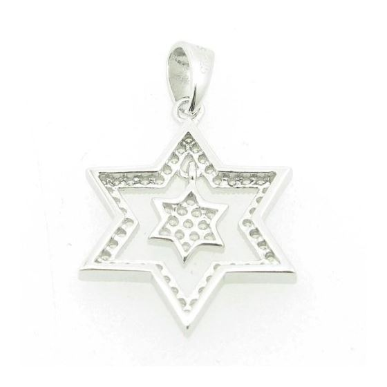 Ladies .925 Italian Sterling Silver Star Within-3