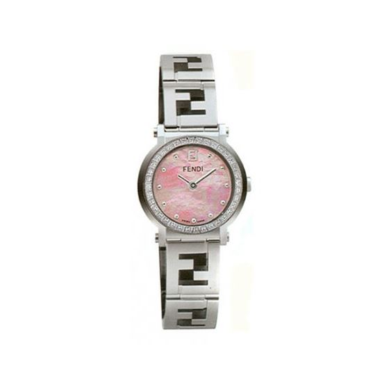 FENDI ROUND QUADRO Ladies Watch F615270D 53642 1