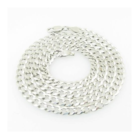 Mens White-Gold Cuban Link Chain Length  79000 1