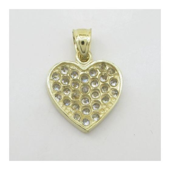 Womens 10k Yellow gold Multiple stone cz 83636 4