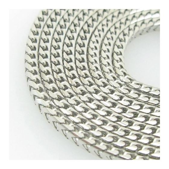 Mens White-Gold Franco Link Chain Length 79078 2