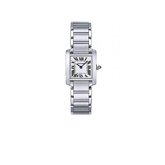 Cartier Tank Francaise 18kt White Gold Ladies Watc