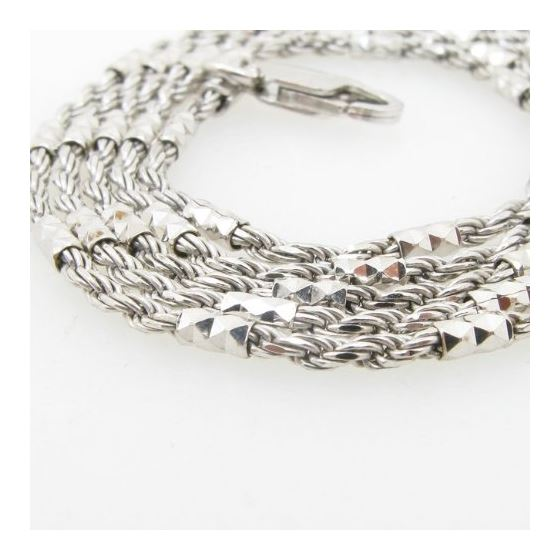 925 Sterling Silver Italian Chain 20 Inches Long-2