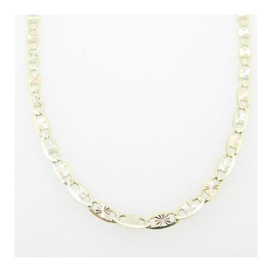 Mens Yellow-Gold Fancy Link Chain Length - 16 inch