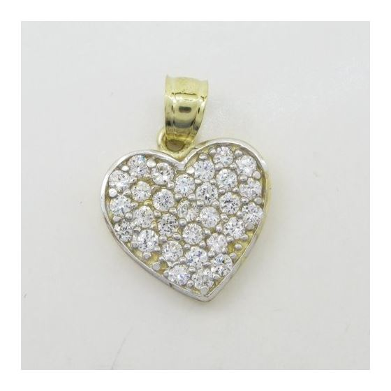 Womens 10k Yellow gold Multiple stone cz 83635 3