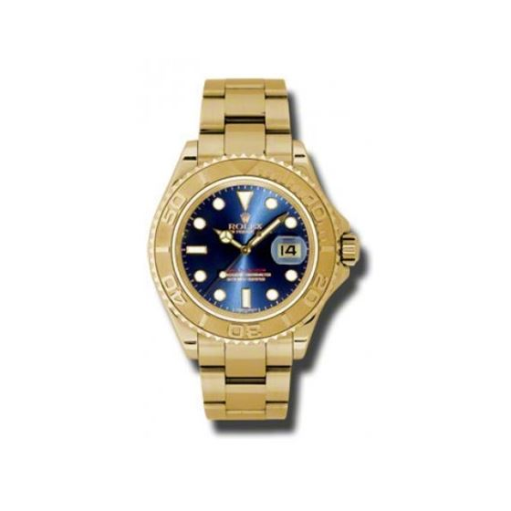 Rolex Watches  YachtMaster Mens Gold 16628 b