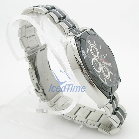 Mens Aqua Master Iced Out Diamond Watch  50730 4