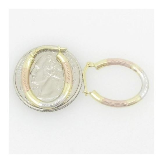 Ladies 10K Gold And .925 Italian Sterling Silver-4