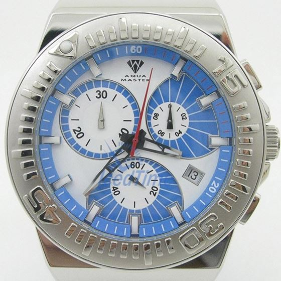 Mens Aqua Master Iced Out Diamond Watch W339AQ12