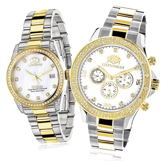 MATCHING WATCHES FOR COUPLES LUXURMAN YE 32 1
