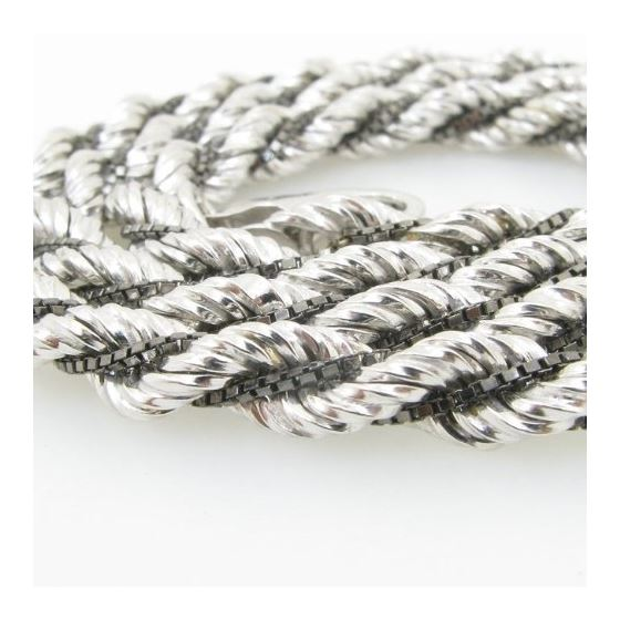 925 Sterling Silver Italian Chain 18 inc 70933 2