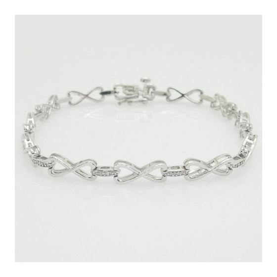 Ladies 0.15ctw Diamond Tennis Bracelet B1664