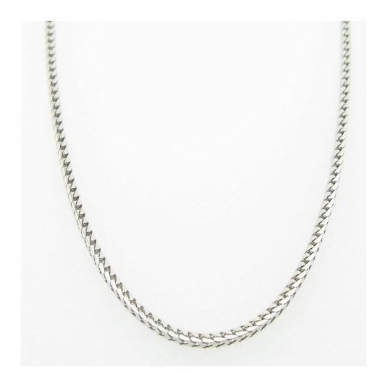 Mens White-Gold Franco Link Chain Length 79079 3