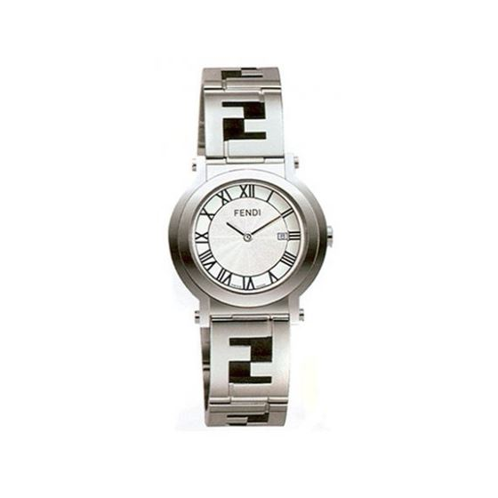 FENDI ROUND QUADRO Mens Watch F615140 53634 1