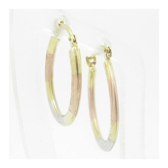 Ladies 10K Gold And .925 Italian Sterling Silver-2
