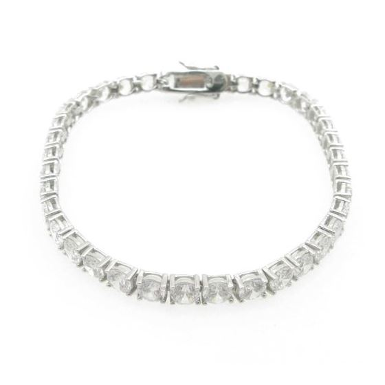 Ladies .925 Italian Sterling Silver roun 74067 2