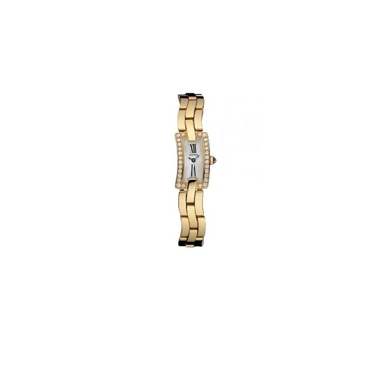 Cartier Ballerine Ladies Solid Rose Gold Watch WG4