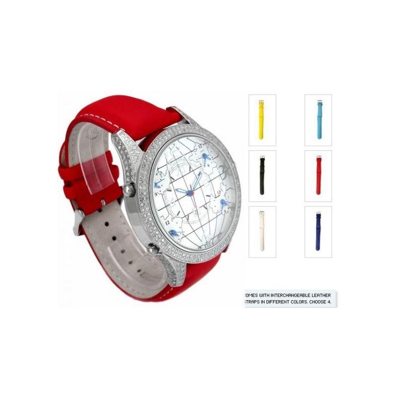 DIAMOND CASE - 256 STONES - 3.00 CTS - CW6DC Red