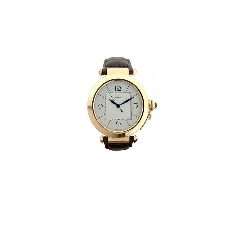 Cartier Pasha 18kt Yellow Gold Mens Watc 55246 1