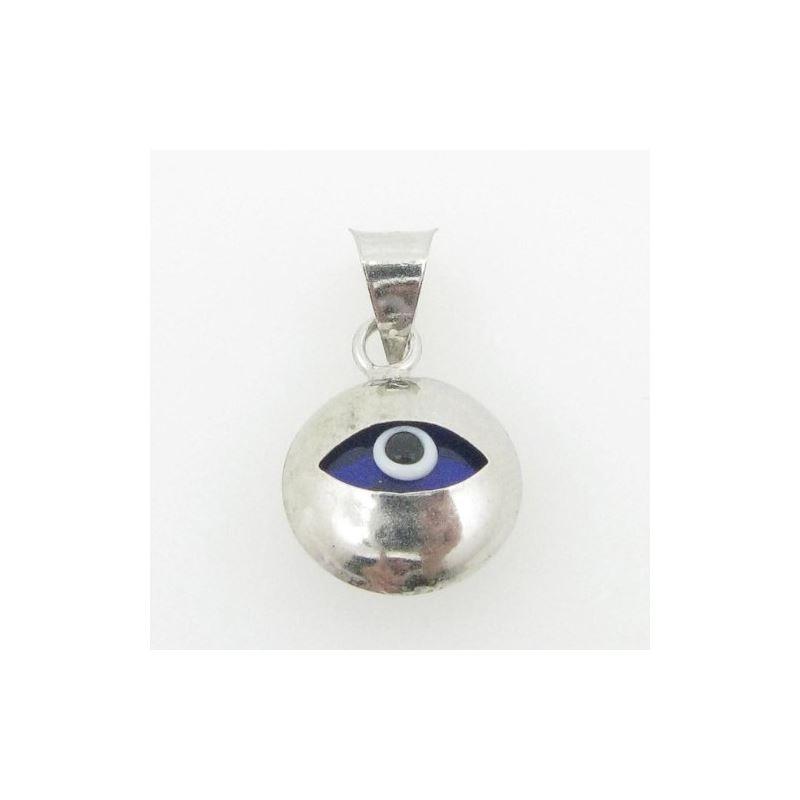 womens bp145 kabbalah evil eye .925 Sterling Silve