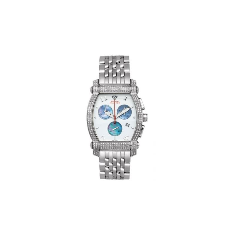 Aqua Master Diamond Watch Unisex Stainle 53446 1