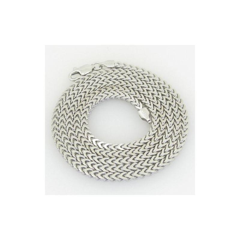 Unisex Italian sterling silver franco bo 82869 1