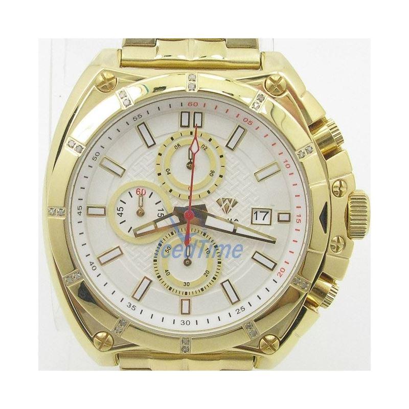 Mens Aqua Master Iced Out Diamond Watch W328AQ2