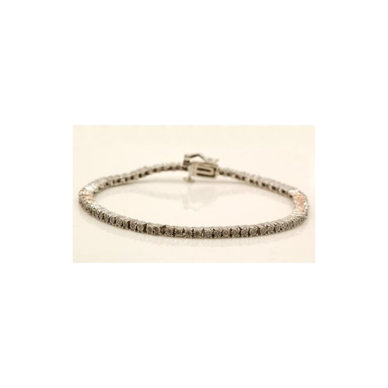 Ladies 0.75ctw Diamond Tennis Bracelet B 74720 1
