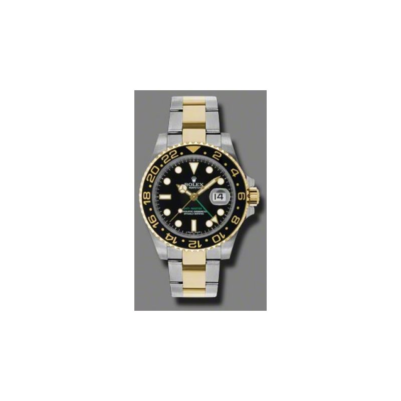 Rolex Watches  GMTMaster II Steel and Gold 116713L