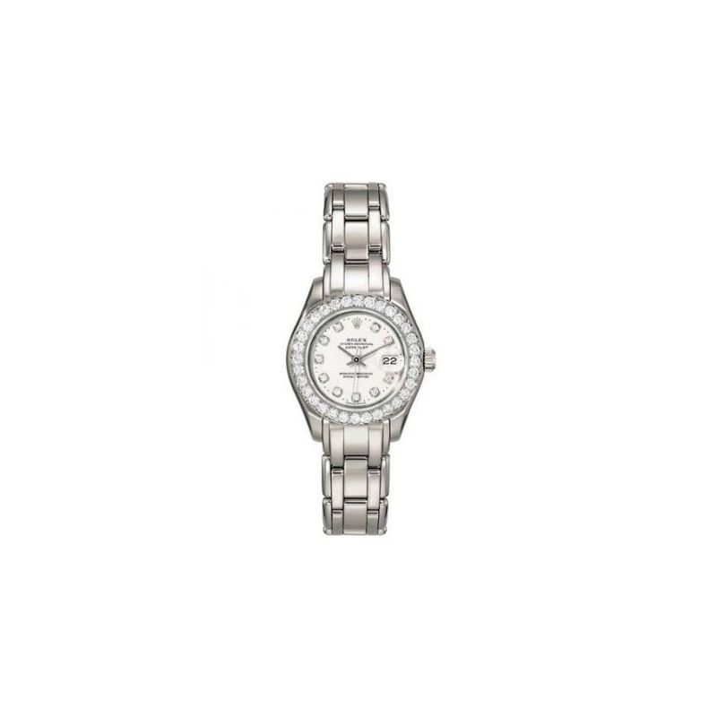 Rolex Diamond Watches: Rolex Pearlmaster Diamond L
