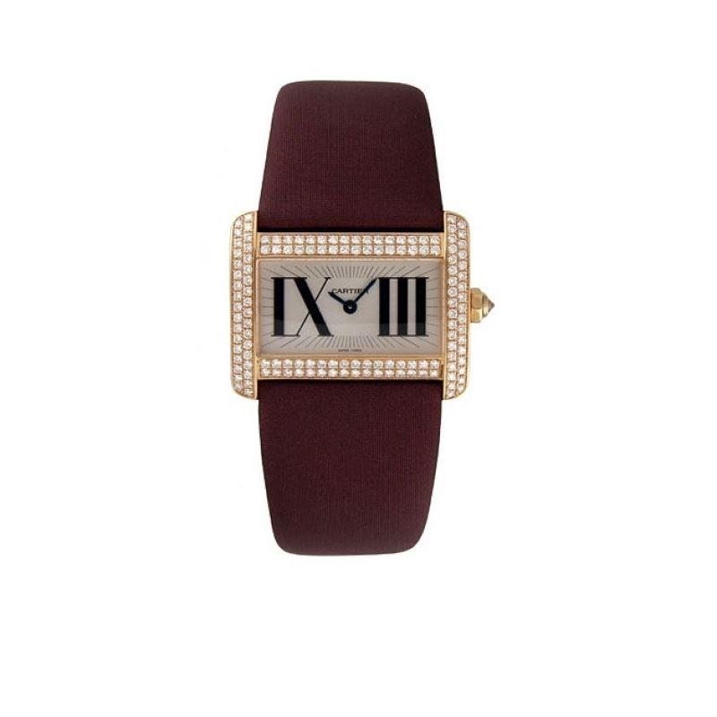 Cartier Tank Divan Diamond Mini Ladies Watch WA301