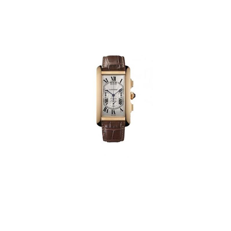 Cartier Tank Americaine Chronograph Automatic Mens