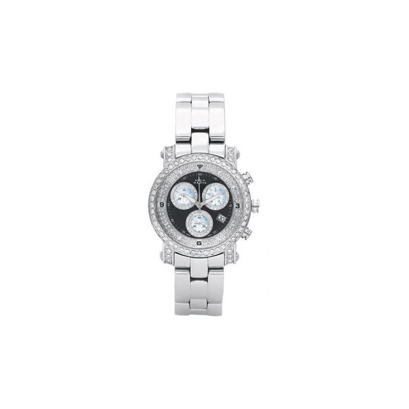 Aqua Master Mens Signature Diamond Watch 11-5W #10