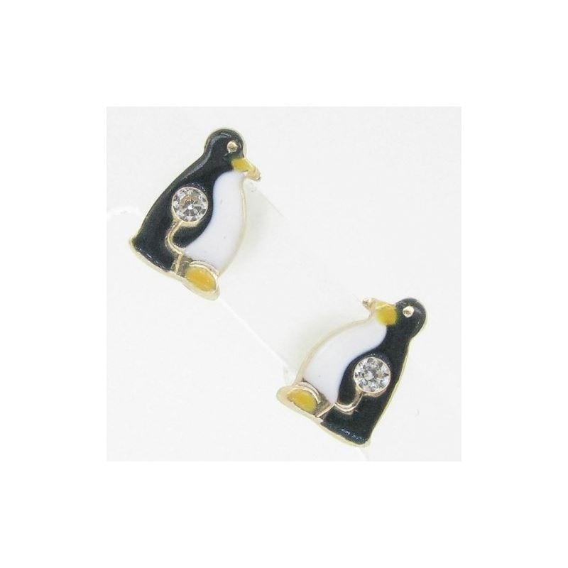 14K Gold Earrings heart star flower dolp 63903 1