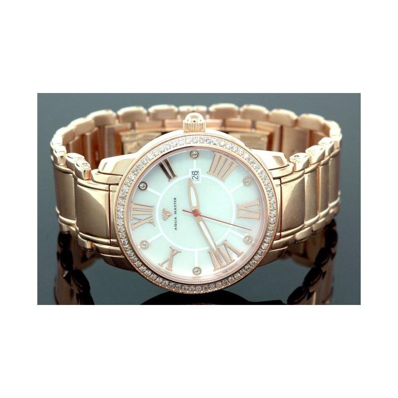 Aqua Master Mens Classic Diamond Watch W 55809 1