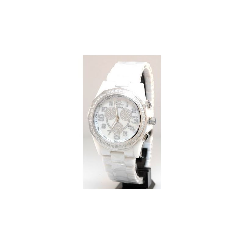 Ceramic Watches Techno Master Unisex Diamond Watch