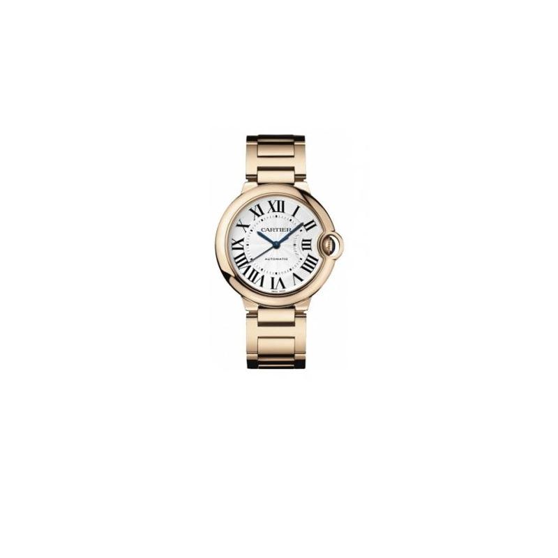 Cartier Ballon Bleu Unisex Gold Watch W69004Z2