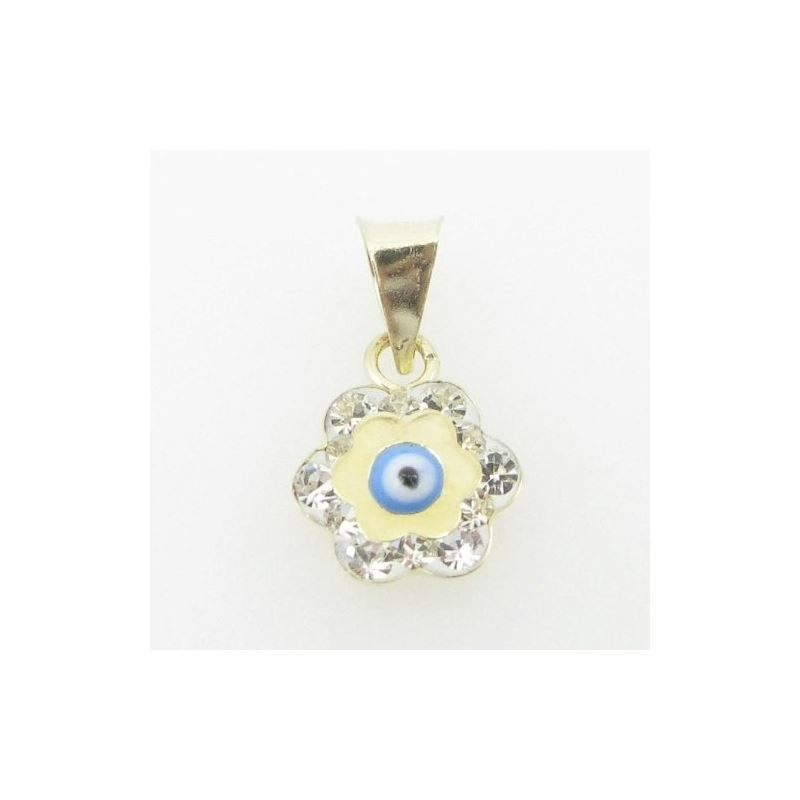 Womens BP118 Kabbalah Evil Eye 14K Solid 88452 1