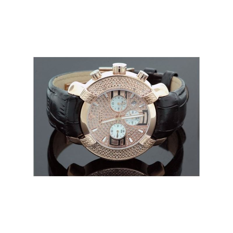 Aqua Master Mens Diamond Watch 96-62