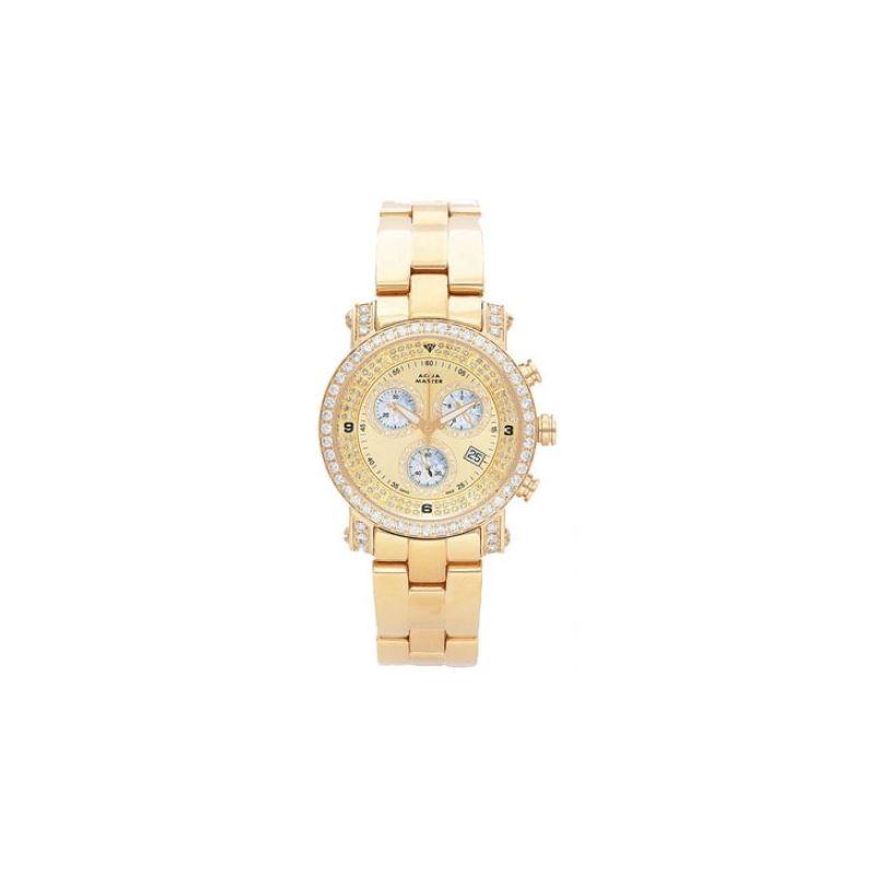 Aqua Master Mens Signature Diamond Watch 11-1W #10