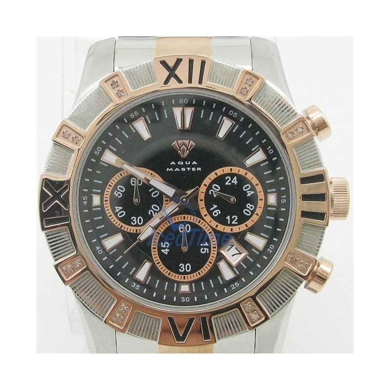 Mens Aqua Master Iced Out Diamond Watch W333AQ4