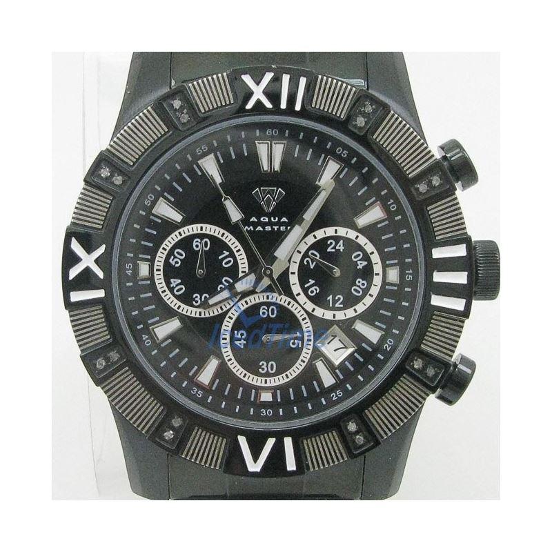 Mens Aqua Master Iced Out Diamond Watch W333AQ8