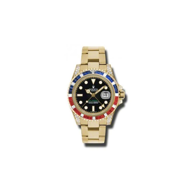 Rolex Watches  GMTMaster II Gold 116758SARU