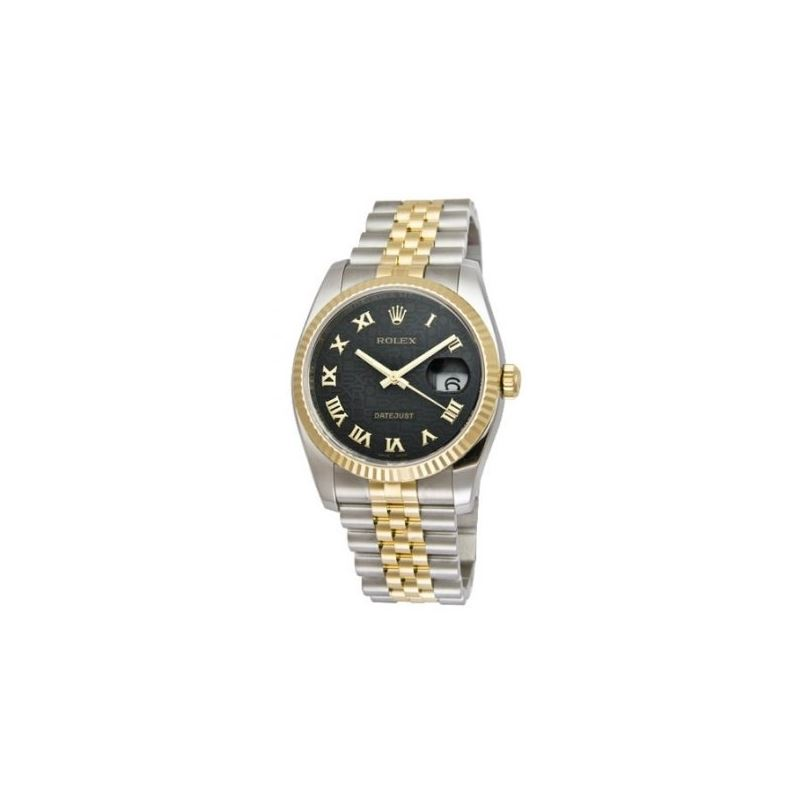 Rolex Oyster Perpetual Datejust Mens Wat 53737 1
