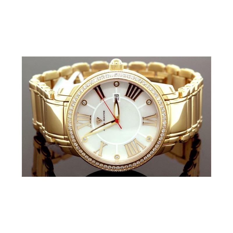 Aqua Master Mens Classic Diamond Watch W320g