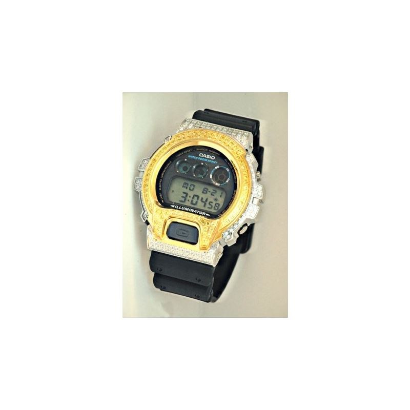 Casio G-Shock 5.00 ct Swarovski Iced Out Mens Watc