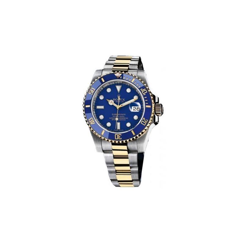 Rolex Blue Submariner Oyster Bracelet Me 53699 1