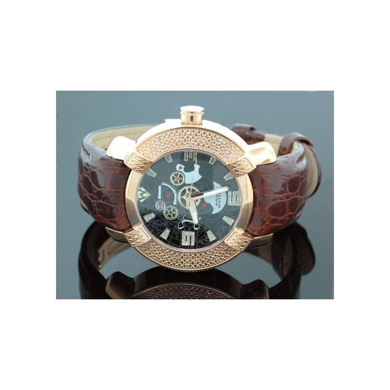 Aqua Master Mens Diamond Watch 96-63