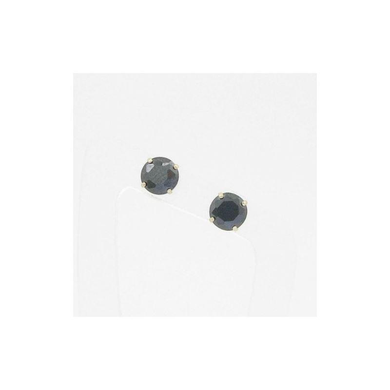 Unisex 14K solid gold earrings fancy stu 81456 1