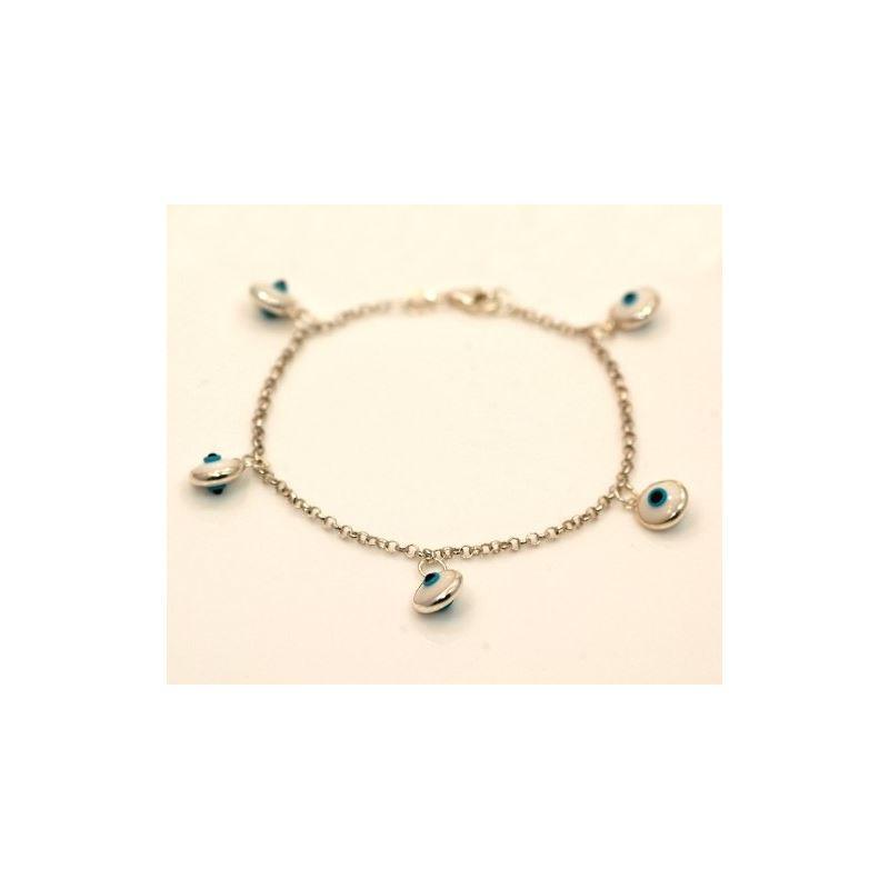 Evil Eye Murano Glass Bead Designer Ster 73108 1
